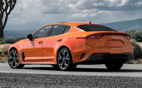2019 Kia Stinger GTS (US) - Wallpapers and HD Images   Car