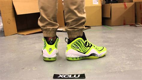 """Nike Air Penny V """"Highlighter"""" On-feet Video at Exclucity"""